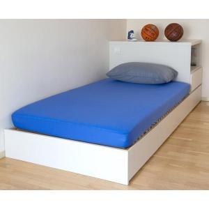 エアスルー 防水フィットシーツ シングルベッドサイズ 200×100cm(寝具 シーツ 吸水 防水 介護 用品)|tricycle