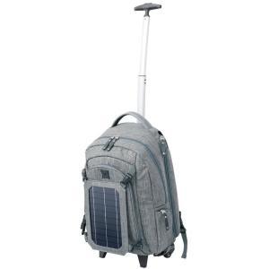 COCORO ココロ ソーラーパネル付リュック型カート(キャスター付きリュックサック キャリーカート バックパック 太陽光発電 蓄電池 防災 グッズ)|tricycle