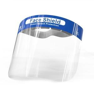 フェイスシールド 50枚 飛沫防止 在庫あり 当日/翌営業日出荷 フェイスガード 組立済  コロナ ウイルス対策 用品 メガネやゴーグルの上から 防災面|trideacoltd|02