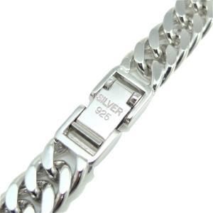 シルバー ネックレス 2面W喜平 φ1.80 60cm 100g 中折 純金/ロジウム コーティング|trideacoltd