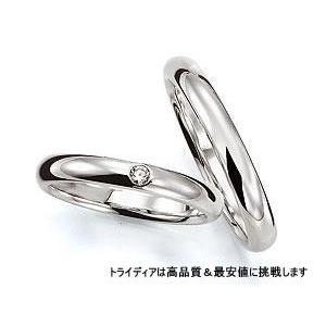 PrimeプライムPR311写真左Pt900プラチナリング結婚指輪マリッジ|trideacoltd