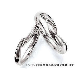ノートル プラチナPt900マリッジリング結婚指輪 左|trideacoltd