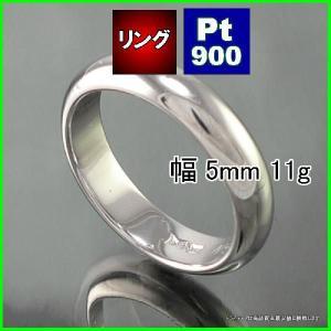 Pt900甲丸5mmプラチナマリッジリング結婚指輪TRK342|trideacoltd