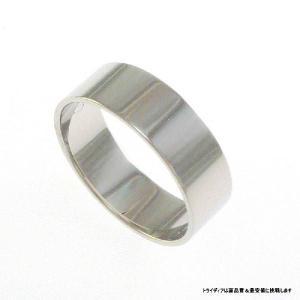 Pt900平打6mm5.6gプラチナマリッジリング結婚指輪TRK351 trideacoltd