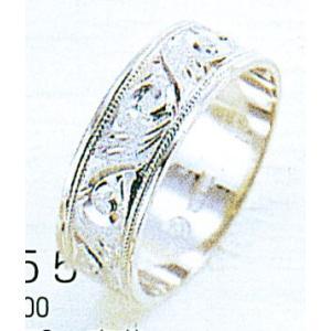 Pt900平打6mm唐草プラチナマリッジリング結婚指輪TRK355 trideacoltd