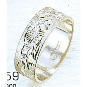 Pt900平打6mm菊プラチナマリッジリング結婚指輪TRK359 trideacoltd
