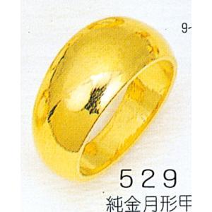 K24月形18g金マリッジリング結婚指輪TRK529|trideacoltd