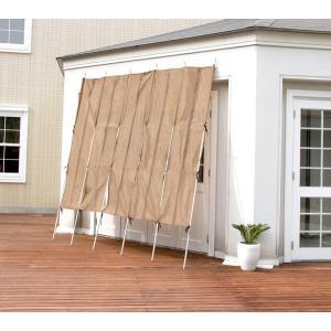 ロールアップ洋風たてす(幅300x高さ240cm)(RECTO)レクト/すだれ 日よけ 目隠し効果 省エネ効果 日差し対策 涼しい 水洗い可能 おしゃれ|trim-i|03
