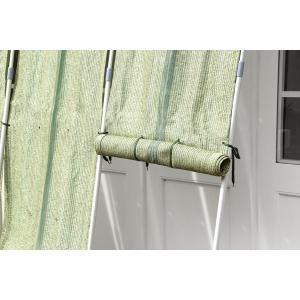 ロールアップ洋風たてす(幅300x高さ240cm)(RECTO)レクト/すだれ 日よけ 目隠し効果 省エネ効果 日差し対策 涼しい 水洗い可能 おしゃれ|trim-i|04