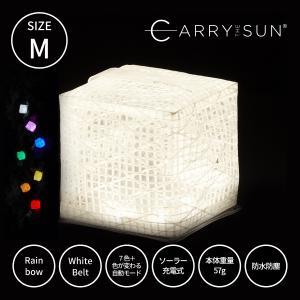 CARRY THE SUN キャリーザサン キャリー・ザ・サン 間接照明 LEDライト CTSR-M  ミニ 折り畳み 七色 レインボー かわいい おしゃれ ギフト プレゼント|trinusstore