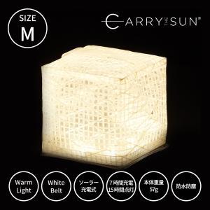 CARRY THE SUN キャリーザサン キャリー・ザ・サン LEDライト CTSC-WHM ミニ 折り畳み 暖色 かわいい おしゃれ ホワイト  ギフト プレゼント|trinusstore