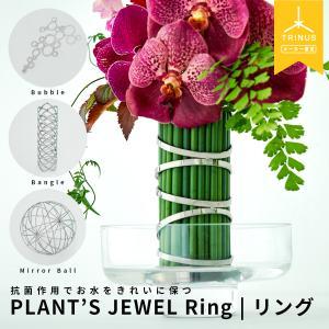 PLANT'S JEWEL(プランツジュエル) Ring(リング) 花器 花瓶 おしゃれ 雑貨 フラワー 花 ギフト プレゼント【送料無料】|trinusstore