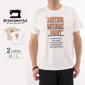 ドライ天竺 半袖Tシャツ ANOTHER 【Branchworks】ブランチワークス 着心地が良い 日本製 メンズ|trioofficial