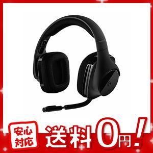 Logicool G ゲーミングヘッドセット ワイヤレス 無線 G533 Dolby 7.1ch ノ...