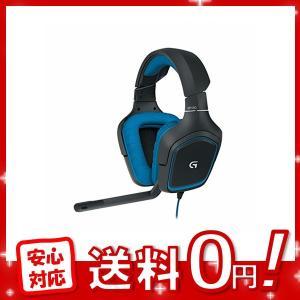 Logicool G ゲーミングヘッドセット G430 ブラック 2.1ch ステレオ ノイズキャン...
