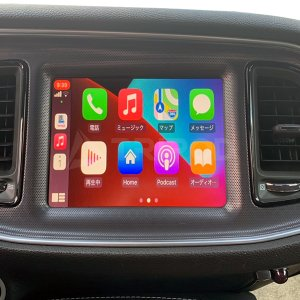 CH-UCONNECT3-CP DODGE/CHRYSLER/JEEP専用 Apple CarPlay AVインターフェース タッチ操作で使用可能!|tripod