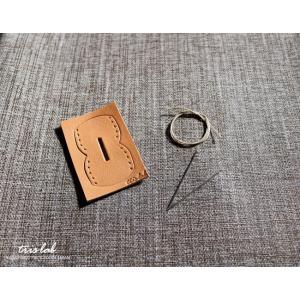 手作り革キット キーカバー|trislab