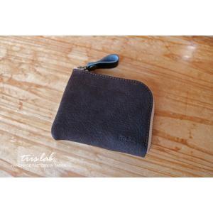 ちいさなお財布(限定革havana)KUDU イギリスレザー|trislab