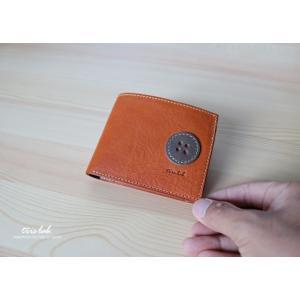 ちいさな2つ折りのお財布 イタリアレザー 【classico】|trislab
