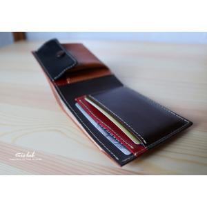 ちいさな2つ折りのお財布 イタリアレザー 【classico】|trislab|04