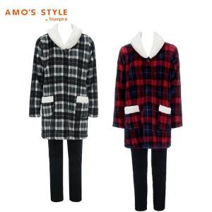 セール50%OFF(アモスタイル)AMO'S STYLE ビッグチェックプリント ルームセット AMSTG214 RMSET(8)