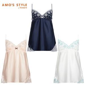 (アモスタイル)AMO'S STYLE WEB限定 雪のランジェリー ミニスリップ AMST1132 M.Slip