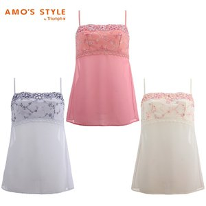 セール30%OFF(アモスタイル)AMO'S STYLE チャーミングラマー ロングキャミソール AMST1099 L.CAMI