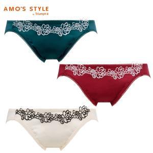 セール30%OFF(アモスタイル)AMO'S STYLE サテン×花柄レース サニタリー(レギュラー) AMST299 SAN.Mini
