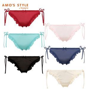 (アモスタイル)AMO'S STYLE サイドリボン レギュラーショーツ AMSTG1140 Mini
