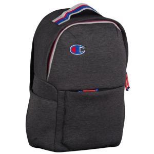 チャンピオン バックパック ワンサイズ Champion Attribute Laptop Backpack リュック Dark Grey/Granite Heather|troishomme
