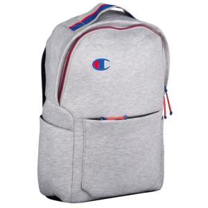 チャンピオン バックパック ワンサイズ Champion Attribute Laptop Backpack リュック Light Grey/Oxford Grey|troishomme