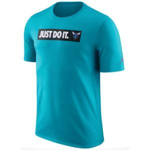 ナイキ メンズ Tシャツ Nike NBA JDI Team T-Shirt Charlotte Hornets ホーネッツ Rapid Teal troishomme