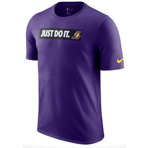 ナイキ メンズ Tシャツ Nike NBA JDI Team T-Shirt Los Angeles Lakers レイカーズ Court Purple|troishomme