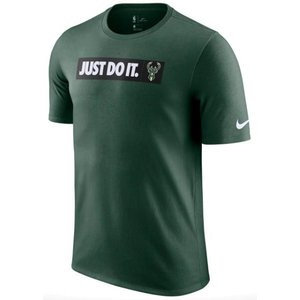ナイキ メンズ Tシャツ Nike NBA JDI Team T-Shirt Milwaukee Bucks バックス Fir|troishomme