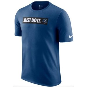 ナイキ メンズ Tシャツ Nike NBA JDI Team T-Shirt Minnesota Timberwolves ティンバーウルブス Court Blue|troishomme