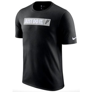 ナイキ メンズ Tシャツ Nike NBA JDI Team T-Shirt San Antonio Spurs スパーズ Black|troishomme