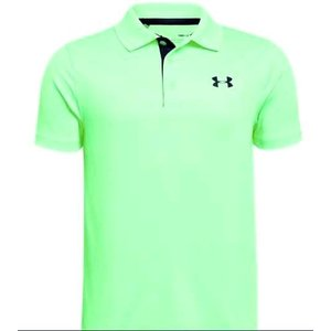 アンダーアーマー キッズ/ボーイズ Under Armour Performance Golf Shirt ポロシャツ Green Typhoon / Academy|troishomme