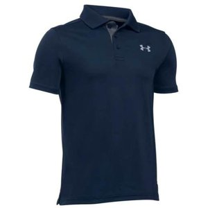 アンダーアーマー キッズ/ボーイズ Under Armour Performance Golf Shirt ポロシャツ Academy / Carbon Heather|troishomme