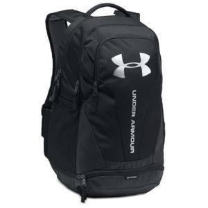 アンダーアーマー メンズ Under Armour Hustle 3.0 Backpack バックパック Black / Black リュックサック troishomme