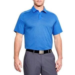 アンダーアーマー メンズ Under Armour Threadborne Golf Polo Shirt ゴルフ ポロシャツ Mediterranean Full Heather / Mediterranean|troishomme