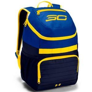 アンダーアーマー リュック キッズ/レディース Under Armour SC30 Curry Fry Backpack Basketball Bag Blue / Yellow troishomme