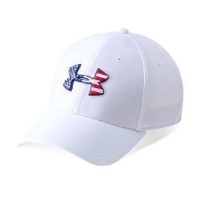 sale retailer 33868 f7b28 アンダーアーマー メンズ Under Armour Freedom Blitzing Cap Headwear キャップ 帽子 White   Red