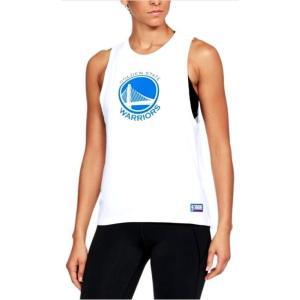 アンダーアーマー レディース/ウーマン UA NBA Combine Authentic Muscle タンクトップ バスケットボール Golden State Warriors White/White troishomme