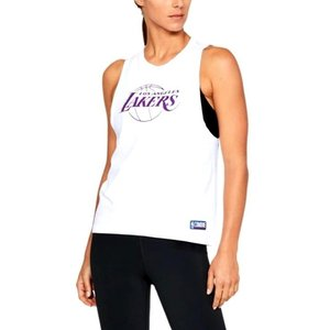 アンダーアーマー レディース/ウーマン UA NBA Combine Authentic Muscle タンクトップ バスケットボール Los Angeles Lakers White/White troishomme