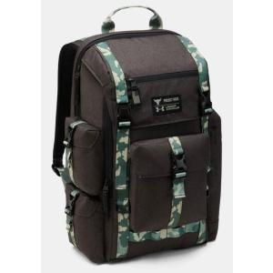アンダーアーマー プロジェクトロック リュック UA x Project Rock US DNA Regiment Backpack バッグ Black/Camo troishomme