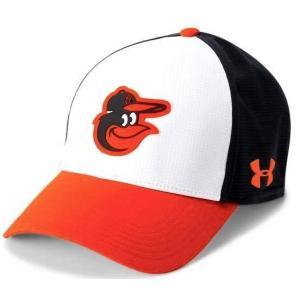アンダーアーマー メンズ Under Armour MLB Driver Baseball Cap Baltimore Orioles メジャー リーグ ボルチモア・オリオールズ キャップ|troishomme
