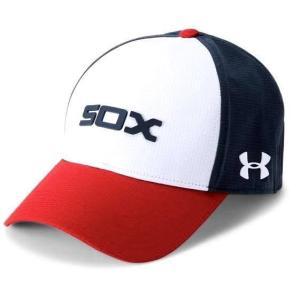 アンダーアーマー メンズ Under Armour MLB Driver Baseball Cap Chicago White Sox メジャー リーグ シカゴ・ホワイトソックス キャップ|troishomme