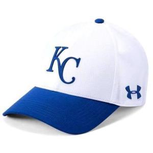 アンダーアーマー メンズ Under Armour MLB Driver Baseball Cap Kansas City Royals メジャー リーグ カンザスシティ・ロイヤルズ キャップ|troishomme