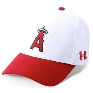 アンダーアーマー メンズ Under Armour MLB Driver Baseball Cap Los Angeles Angelsメジャー リーグ ロサンゼルス・エンゼルス キャップ|troishomme