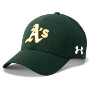 アンダーアーマー メンズ Under Armour MLB Driver Baseball Cap Oakland Athletics メジャー リーグ オークランド・アスレチックス キャップ|troishomme